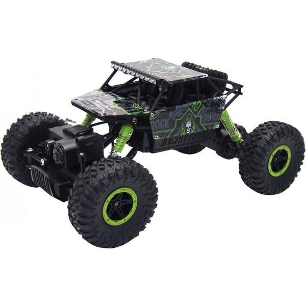 RC Crawler Conqueror Green 4WD RTR 1:18