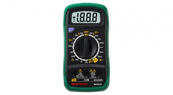 Multimeter Digital Mastech MAS830SCE10