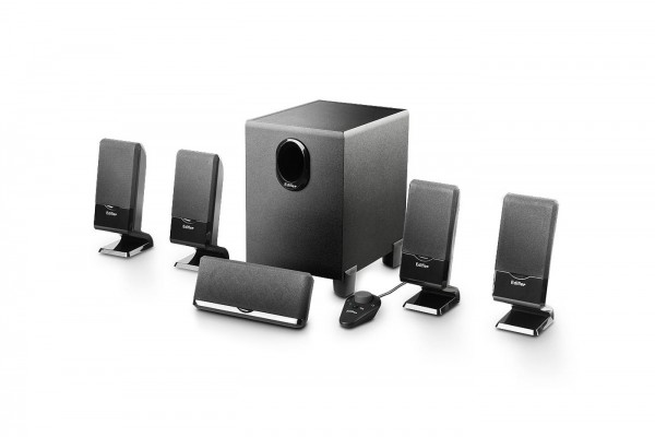 Lautsprecher 5.1 Edifier M1550 schwarz inkl. Kabelfernebdienung