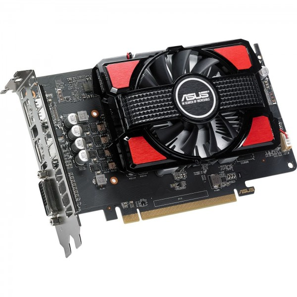 Grafikkarte Asus RX 550 4GB GDDR5 HDMI/DP/DVI PCIE
