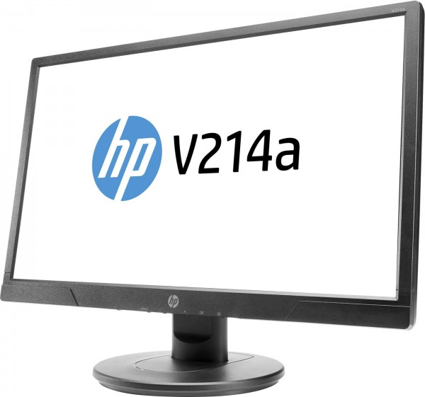 "Monitor HP 21"" V214a FULL HD 5ms HDMI VGA"