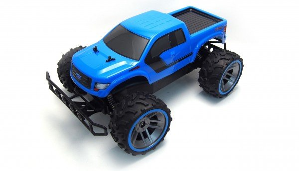 RC Monstertruck Amewi Ford F150 1:16 RTR blau