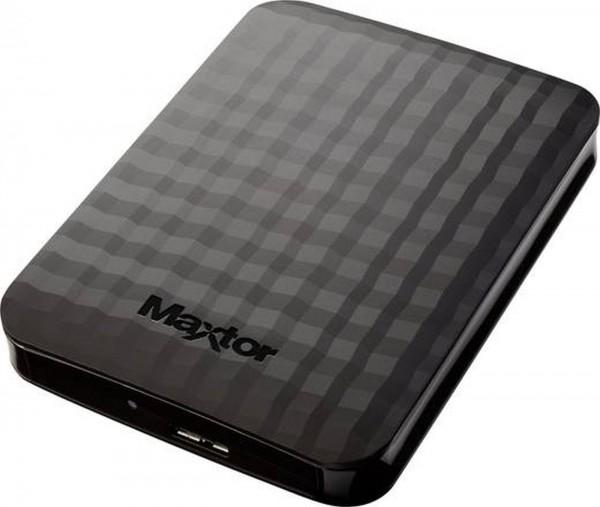 "Festplatte extern 2,5"" Maxtor/Seagate 2TB USB3.0 schwarz"
