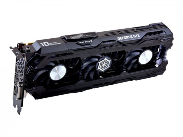 Grafikkarte Inno3D Geforce GTX 1080ti 11GB GDDR5X DVI HDMI DP