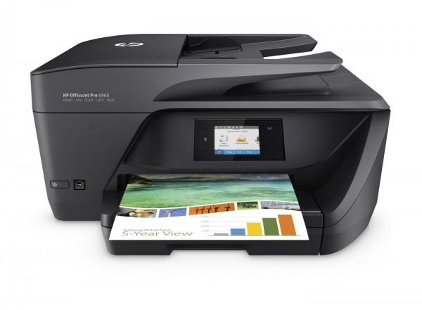 Multifunktionsdrucker HP Officejet Pro 6960 4in1 Tinte