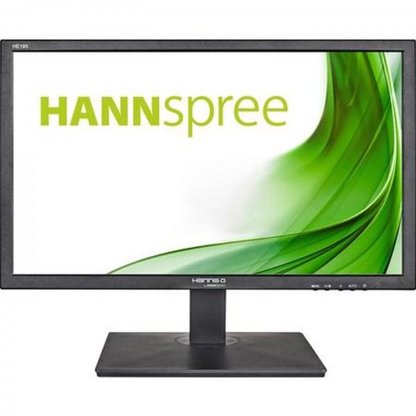 "Monitor HannsG 8,5"" HE195ANB LED 5ms VGA schwarz"