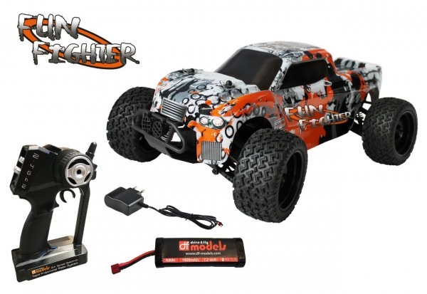 RC Truck FunFighter 4WD RTR MaliRacing 3142