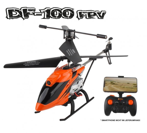 RC Helikopter DF-100 PRO FPV 9500