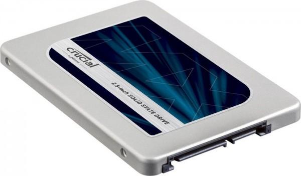 "Festplatte SSD Crucial MX300 525GB SATAIII 2,5"" 530/510"