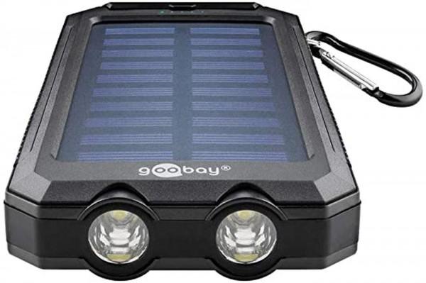 Powerbank Goobay 8000mAh +Solarpanel 49216