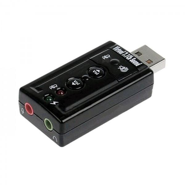LOGILINK USB Soundkarte 7.1-Effekt