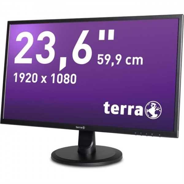 "Monitor Wortmann Terra 23,6"" 2447W MVA FULL HD 5ms DVI HDMI LS"