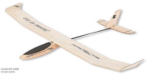 RC Flugzeug Bausatz Lilienthal 40 RC 108400
