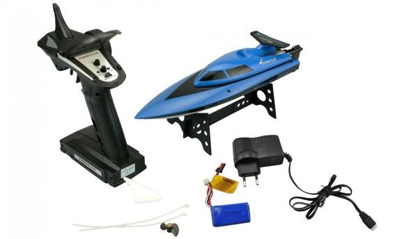 RC Boot Amewi Blue Barracuda 2.4GHz RTR