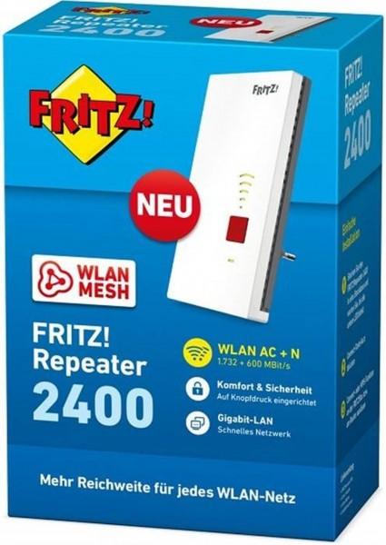 Netzwerk AVM Fritz! Repeater 2400 (2400Mbit) Dual Band
