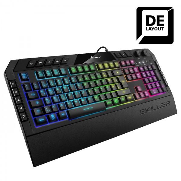Tastatur Sharkoon Skiller Gaming SGK5 Multimediatasten