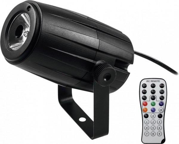 Pinspot LED PST-5 QCL schwarz