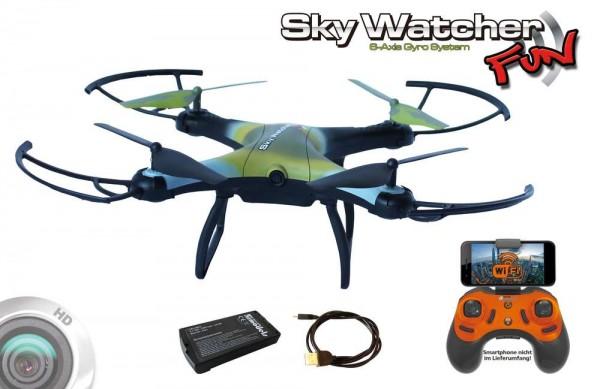 RC Quadrocopter Skywatcher Fun RTF FPV 9360